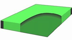 Udempet vannseng madrass 153x213 cm-0